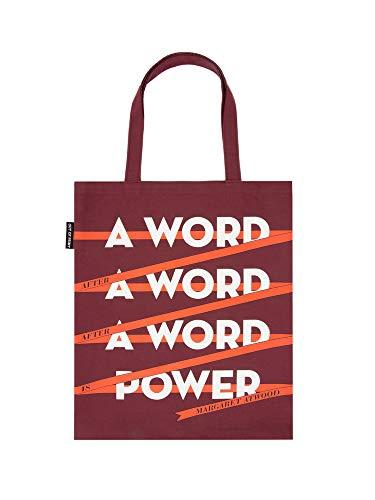 Out of Print Tragetasche für Buchliebhaber, Leser und Bibliophilen, aus Leinen, mehrfarbig, Größe: 38,1 x 43,2 cm