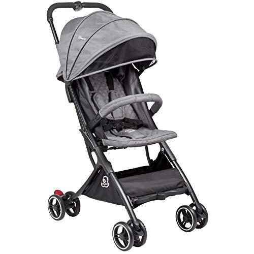BabyGo Buggy Micro - Reisebuggy nur 4,9 Kilogramm grey/grau 6802