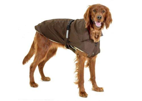 Karlie No Limits - Abrigo para Perro, 29 cm, XS, Color marr�