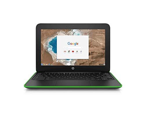 HP Chromebook 11 G4 Black & Green 11.6″ Intel N2840 2.16GHz 4GB RAM 16GB eMMC Wi-Fi Chrome OS (Renewed)