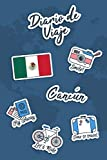 Diario de Viaje Cancún: Diario de Viaje | 106 páginas, 15.24 cm x 22.86 cm | Para acompañarle durante su estancia.