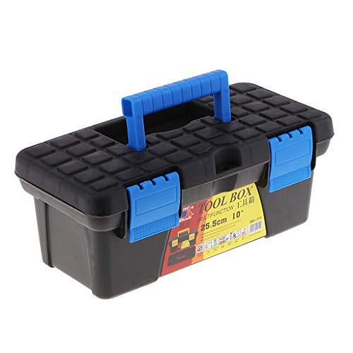 joyMerit Werkzeugbox Werkzeugkasten Werkzeugkoffer mit Griff, Stabiler Organizer aus Kunststoff