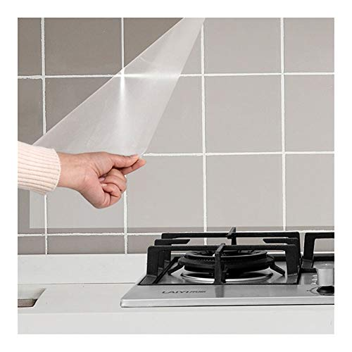 Modern behang Tv achtergrond woonkamer wallpa transparante keuken sticker olieproof muursticker keuken wandbehang bestand bestand tegen hoge temperaturen tegels film afzuigkap sticker