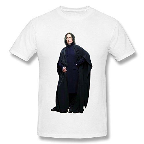 Gaowee Herren's Alan Rickman Severus Snape Pose T-shirtXLarge