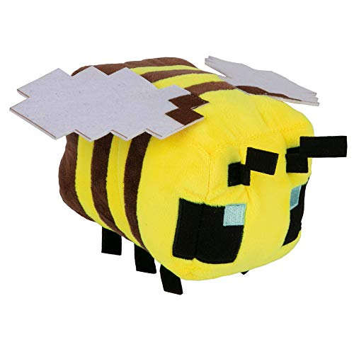 JINX Plüschtier Minecraft Happy Explorer Bee, JX10934