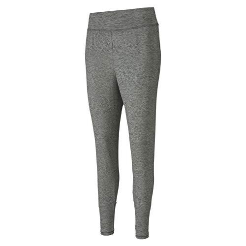 PUMA Damen Jogginghose Studio Tapered Pant, Medium Gray Heather, XL, 519044