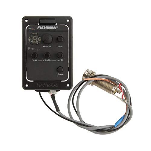 EQ Ecualizador de guitarra acústica, preamplificador, sintonizador de pastilla para FISHMAN 101