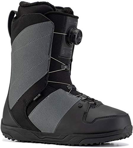 Ride Anthem Mens Snowboard Boots Sz 9 Grey