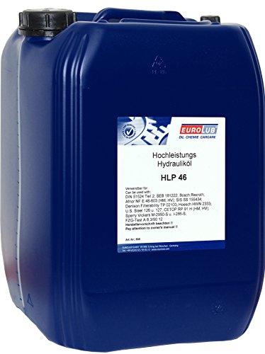 EUROLUB HLP ISO-VG 46 Hydrauliköl, 20 Liter