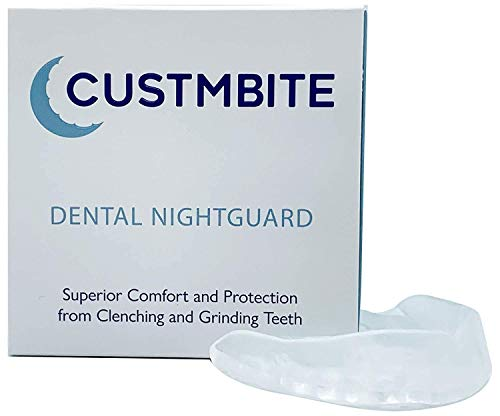 CustMbite Nightguard For Braces - Professional Dental Guard, Custom Fit Night Guard for Teeth Grinding, TMJ Relief & Bruxing
