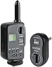 GODOX FT-16 Transmisor Receptor Kit 16 Canales 433Mhz Control Remoto inalámbrico para Godox Outdoor Flash Studio Flash QT QS Serie DP DE Cámara Speedlite Canon Nikon Pentax Olympus Camera (FT16)