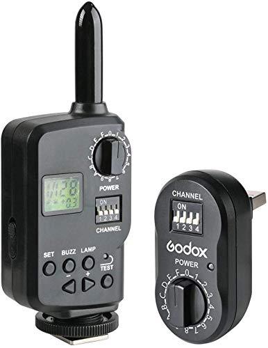 GODOX FT-16 Sender Trigger Flash Empfänger Kit 16 Kanäle 433 MHz Funkfernbedienung für Godox Flash Outdoor Studio Flash QT QS DP DE Serie Kamera Speedlite Blitz Canon Nikon Pentax Olympus (FT16)