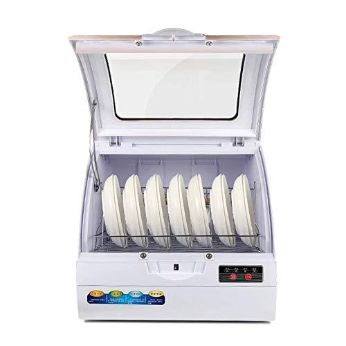 Wghz Kleine Spülmaschine, Mini-Tischspülmaschine, Dual-Shower-Storm-System, Vier Funktionsoptionen, Wasserverbrauch von nur 4,4 l / 45 * 43 * 37 cm
