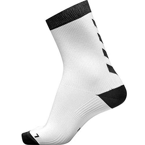 hummel Element Indoor Sport Sock 2, Weiß/Schwarz, 35/38