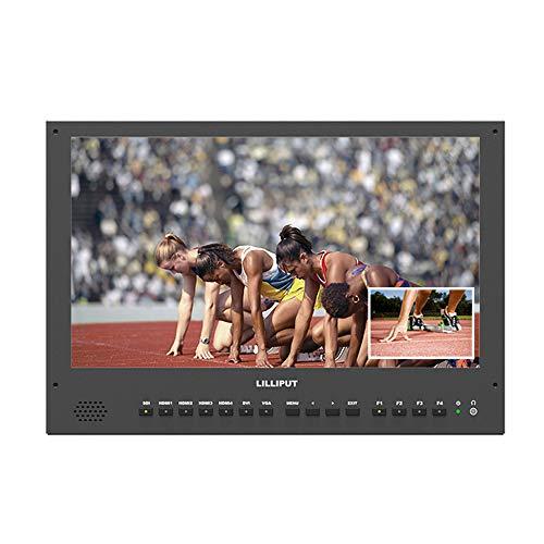 "LILLIPUT BM150-4KS 15.6"" 8bit 3840x2160 3G-SDI 4K Ultra-HD Resolution 3D LUTS and HDR 1000:1 Contrast Ratio Broadcast Director On-Camera Video Monitor …"