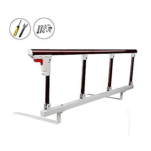 Bed Safety Rails for Adults Elderly Bed Railing Safety Assist Folding Hospital Bedside Grab Bar Bumper Medical Stand Assistance