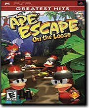 New Sony Electric Ape Escape On The Loose PSP Capture 200 Monkeys In Eight Different Worlds
