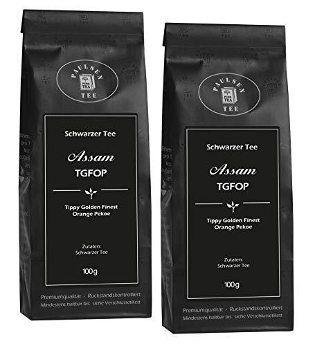 Paulsen Tee Schwarzer Tee Assam TGFOP 2x100g