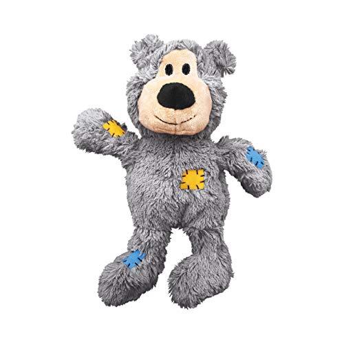 KONG – Wild Knots Bear – Mit geknoteten Seilen und weniger Füllung – Sehr große Hunde (Farbvar.)