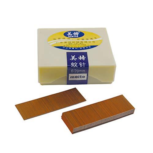 China-top Silver P620 23 Gauge 3/4-inch Length Pinner Nails Pin Nails Headless Pins 10,000 PCS/BOX
