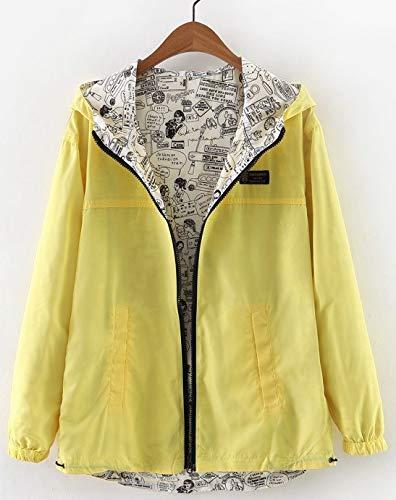Qingxian『レディースフード付きジャケット』