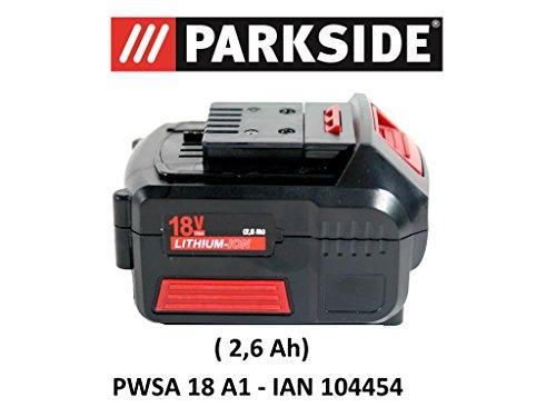 Parkside accu, 18 V, 2,6 Ah PAP 18-2,6 A1 voor PWSA 18 A1 - IAN 104454 accu-haakse slijper