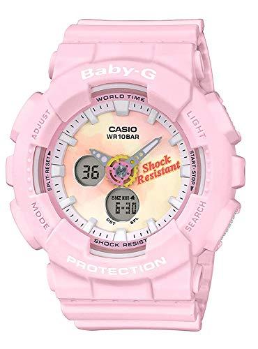 Pink Digital Alarm Watch