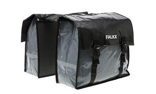 Falkx Bisonyl - Maletín doble (40 L), color gris y negro