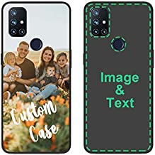 Personalized Phone Case for Oneplus Nord N10 5G Custom Photo Phone Cases Customized Gift for Birthday Xmas Valentines Friends Her Him, Uartify Protective Oneplus Nord N10 5G Black Case