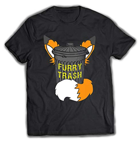Fox Furry Trash Furries Tail Ears Cosplay Trash Can Tee T Shirt Premium, Hoodie for Men Women