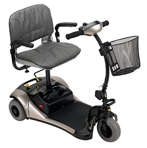Shoprider Dasher 3 Three Wheel Color Interchangeable Personal Travel Scooter
