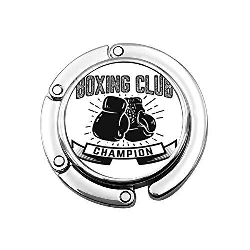 Perchero Monedero Plegable Lindo Gancho de Monedero Acción Chempion Boxing Club Emblema...