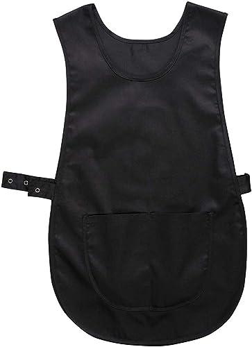 Portwest Chasuble avec Poche, Couleur: Noir, Taille: S/M, S843BKRS/M