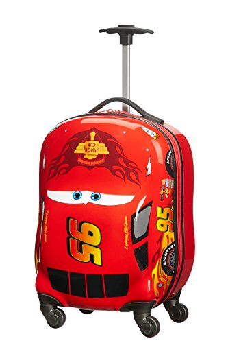 Samsonite Disney Ultimate - Spinner XS kinderbagage, 47 cm, 20 L, rood (Cars Classic)