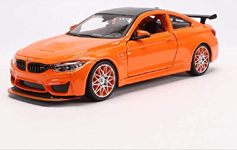 教育学ガムプログラムマイスト Maisto 1/24 BMW M4 GTS レース スポーツカー ダイキャストカー Diecast Model ミニカー