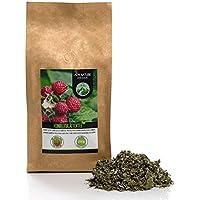 Té de hojas de frambuesa (250g), hojas de frambuesa cortadas, suavemente secadas, 100% puras y naturales para la preparación de té, té de hierbas