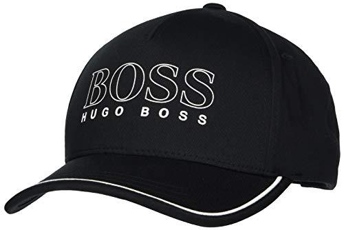 BOSS Herren Basic-1 Baseball Cap, Schwarz (Black 1), One Size (Herstellergröße: ONESI)
