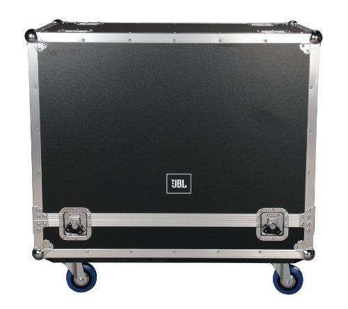 JBL Bags JBL-FLIGHT-PRX612M Flightcase für (2x) PRX612M, 1,27 cm Sperrholzkonstruktion und 8,9 cm Rollen, Truck Pack außen