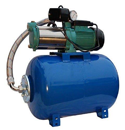 Pompe d'arrosage POMPE DE JARDIN pour puits 1100 W, 230V, 95l/min + ballon surpresseur 50