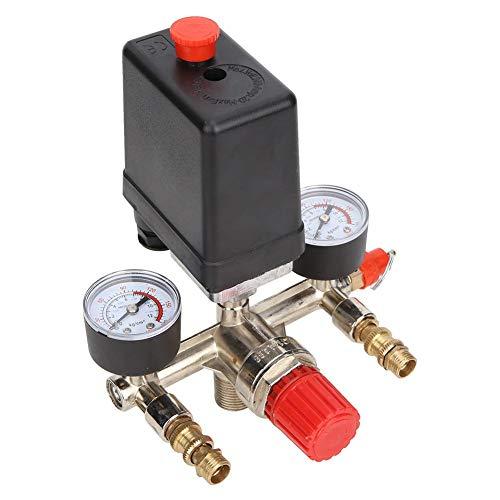 Bomba del compresor de aire Control del regulador de presión Soporte de interruptor normalmente cerrado Conjunto de válvula reguladora de presión