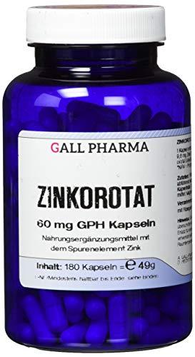 Gall Pharma Zinkorotat 60 mg GPH Kapseln, 180 Kapseln