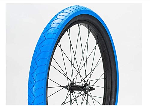 Mafiabikes BMX Reifen 29 Zoll x 2,8 Zoll Mafia Bomma Wheelie Bike Fahrrad (blau/schwarz)