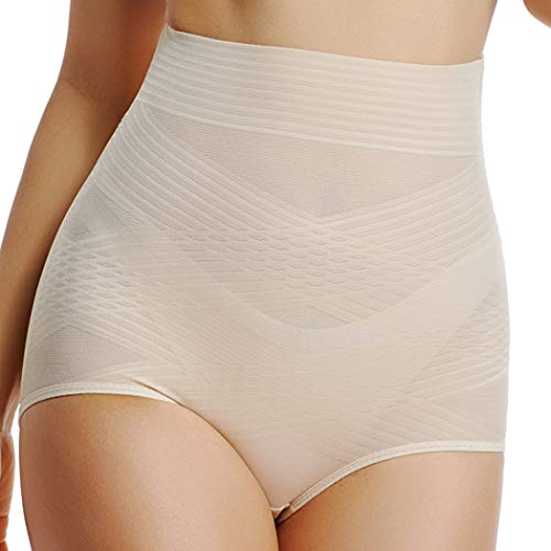 Women's Tummy Control Underwear High Waist Butt Lifter Shapewear Slimming Brief Control Panty