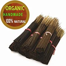 Yajna Frankincense And Myrrh 100% Natural Incense Sticks Handmade Hand Dipped The Best Woods Scent (500 Pack-100 X 5)