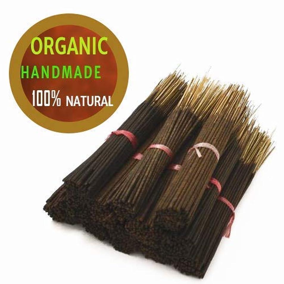 テスピアン市長グリルYajna Frankincense And Myrrh 100% Natural Incense Sticks Handmade Hand Dipped The Best Woods Scent (500 Pack-100 X 5)