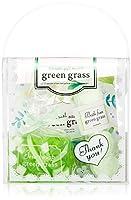 サンハーブ バスギフトNo.14 グリーングラス (バッグ型のバスセット 爽やかですこし大人な香り)