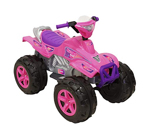 Prinsel 1119 Moto Eléctrica Road Girl 6V Ride On, color Rosa