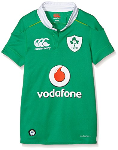 Canterbury Maillot Unisexe Enfants Equipe d'Irlande Technologie Vapodri + –Vert 8 Ans Bosphorous Green