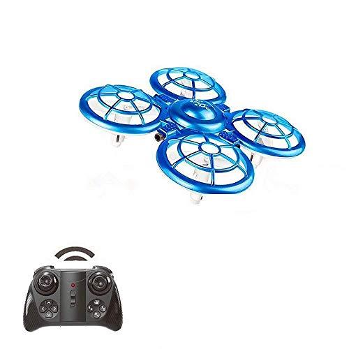 ADLIN Juguetes educativos al aire libre, mini aviones no tripulados for el helicóptero del control de mano de juguete 3-10 Años de Edad Boy inducción Aviones de juguete de control remoto Sensor del ma