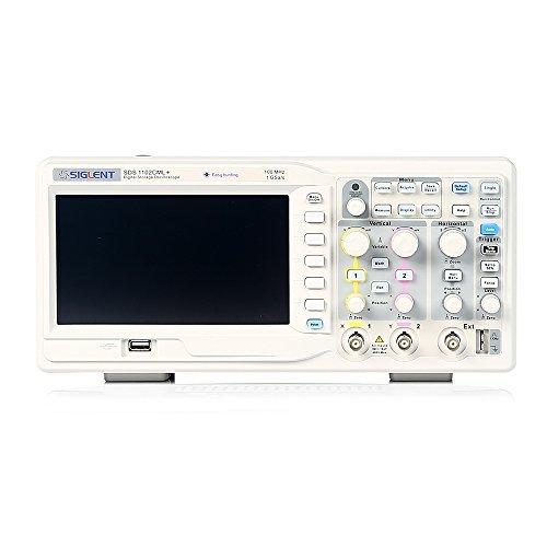 Siglent SDS1102CML+ Digital Storage Oscilloscope, 100MHz, 7'' TFT-LCD Display by Siglent